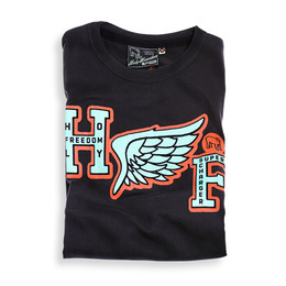 HOLYFREEDOM T-SHIRT FLY BLACK
