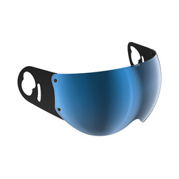ROOF BOXER V8 VISOR IRIDIUM BLUE