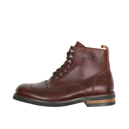 HELSTONS BOOTS MESSENGER ANTIK MARRON
