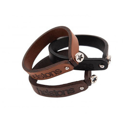 HELSTONS LEATHER BRACELET STAR