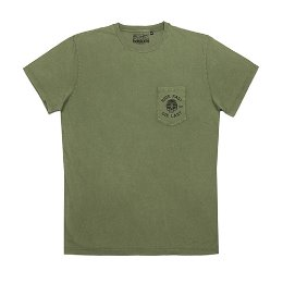 HELSTONS T-SHIRT CHEVIGNON RIDE OLIVE 쉐비뇽 라이드 올리브