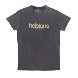 HELSTONS T-SHIRT CORPORATE BLACK 코퍼레이트 블랙