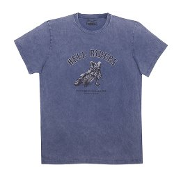 HELSTONS T-SHIRT CHEVIGNON HELL BLUE 쉐비뇽 헬 블루