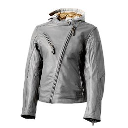 RSD WOMEN'S LEATHER JACKETMIA GUNMETAL