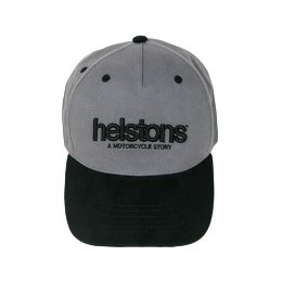 HELSTONS TRUCKER CAP CORPORATE BLACK/GREY